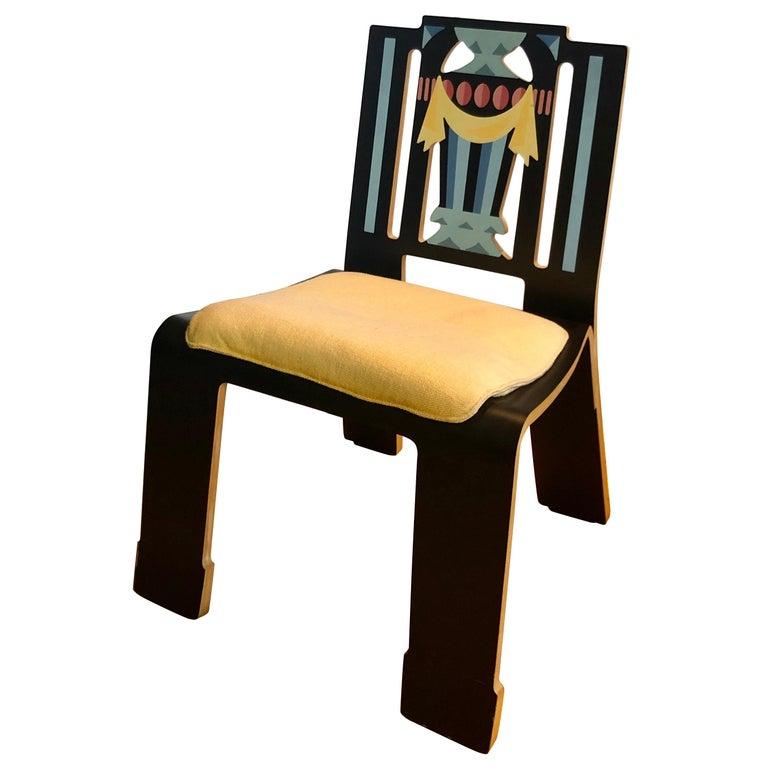"Robert Venturi & Denise Scott Brown ""Sheraton Chair"" For Sale"