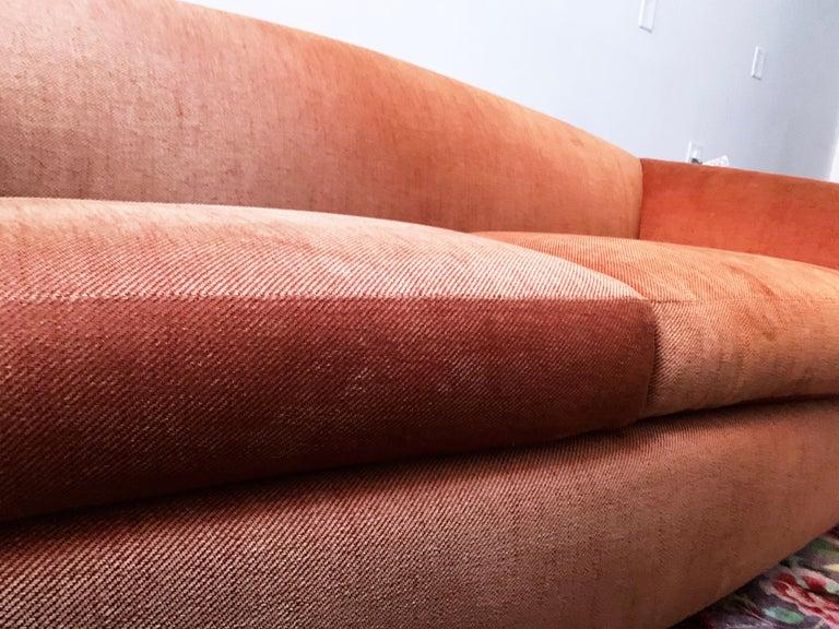 American Robert Venturi Knoll 'Grandma' Loveseat Sofa Chenille, 1984, Postmodern Couch For Sale
