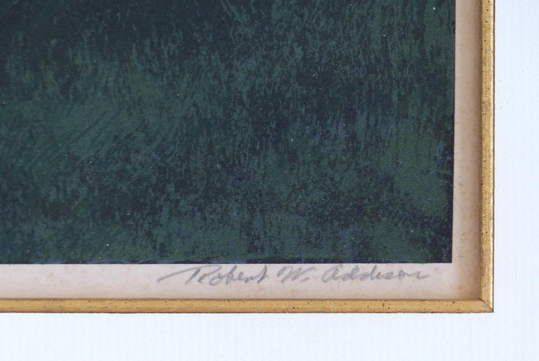 Robert W. Addison Lithograph Signed, Numbered,