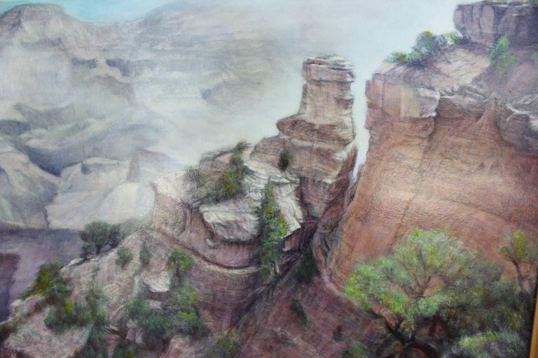 Realist Landscape - Painting by Robert W. Boyle