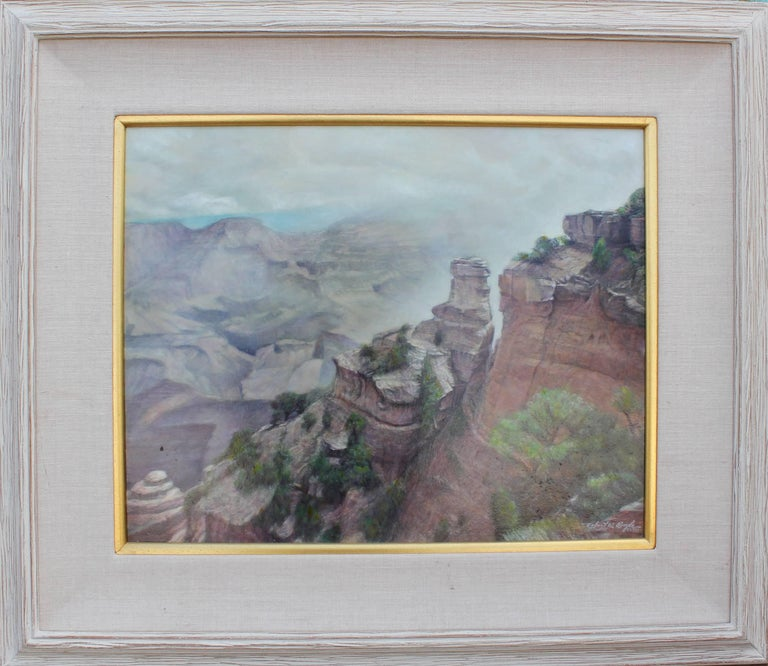 Robert W. Boyle Abstract Painting - Realist Landscape