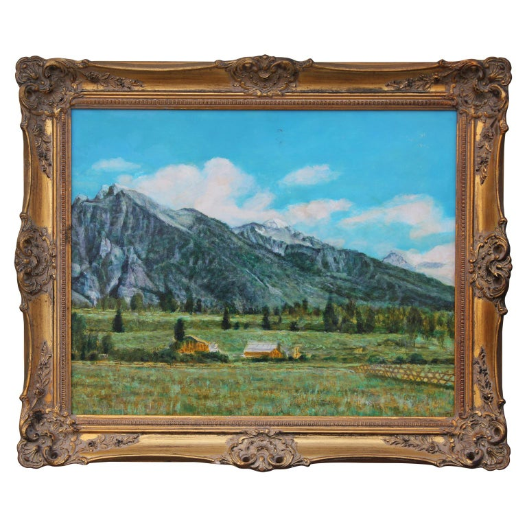 Robert W. Boyle Landscape Art - Landscape of Colorado Mountainside