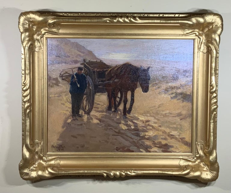 Robert Wadsworth Grafton Antique Oil Painting For Sale 5