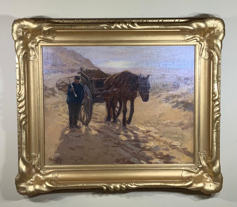 Robert Wadsworth Grafton Antique Oil Painting For Sale 6