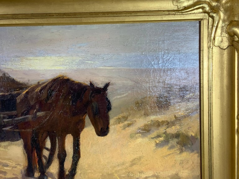 Robert Wadsworth Grafton Antique Oil Painting In Good Condition For Sale In Delray Beach, FL