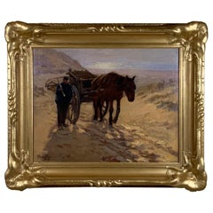 Robert Wadsworth Grafton Antique Oil Painting