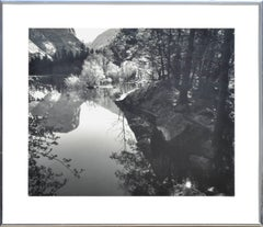 Black and White Reflections Landscape