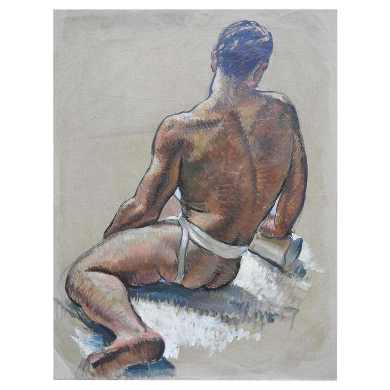 Robert Whitmore Oil Painting Male Portrait