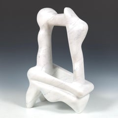 White Marble Form