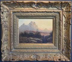 """West Texas""   Landscape Early Robert Wood"