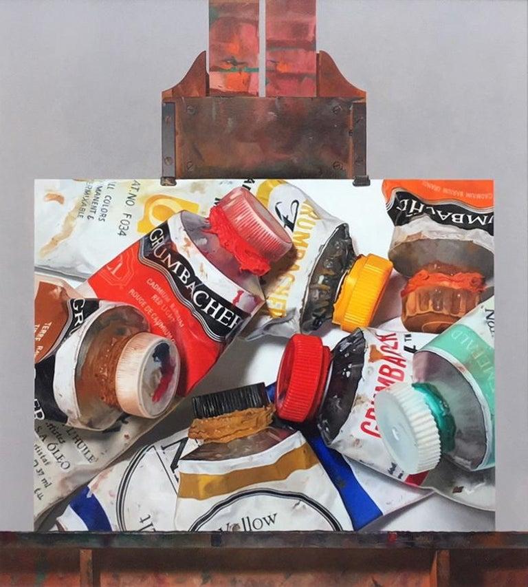 Robert Zappalorti Still-Life Painting - Oils