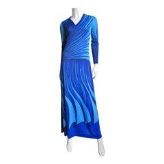 Roberta di Camerino 1970s Maxi Dress