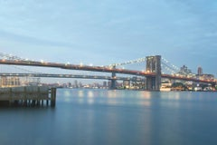 Brooklyn, Manhattan, Williamsburg Bridges, Contemporary Color Photo, Ed 1/5