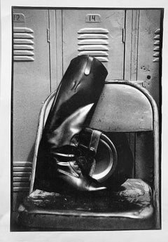 Rider's Boot, Claremont Riding Academy, NYC, Black and White Photography Horses