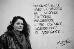 Miss.Tic, Paris,  Portrait Photo of Contemporary French Female Graffiti Artist