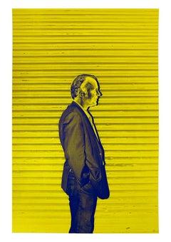 Modern Man, New York City, Contemporary Color Portrait Photography