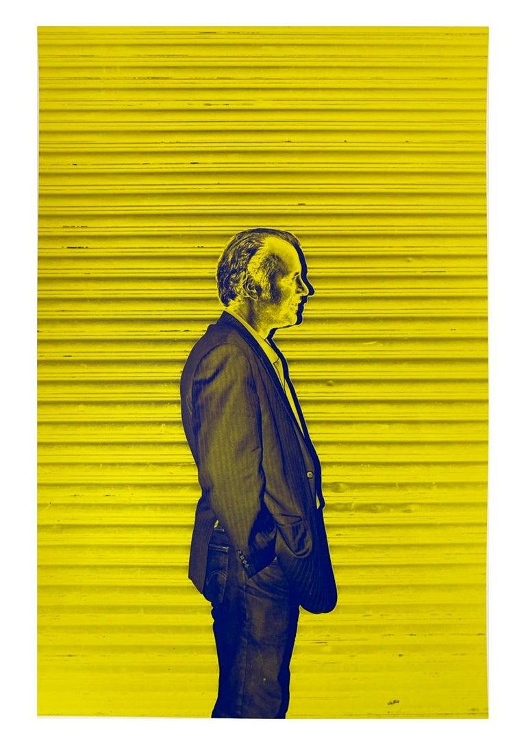 Roberta Fineberg Color Photograph - Modern Man, New York City, Contemporary Color Portrait Photography