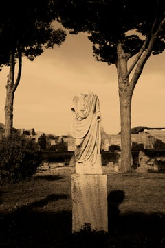 Roman God(dess) II, Rome, Italy, Contemporary Pictorialist Photography