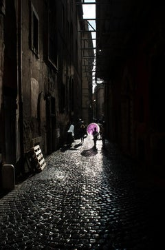 Rome Sun Shower, Italy, 2019 by Roberta Fineberg, contemporary color photography