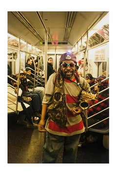 Subway Star, New York City, Contemporary Color Street Photography, Edition 1/ 2