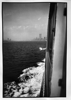 Wave Goodbye, SI Ferry, New York City Waterfront, Gelatin Silver Large Print