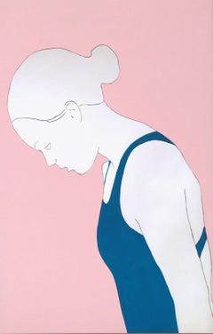 Iris, Painting, Acrylic on Canvas