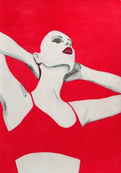 Rossa I, Painting, Acrylic on Canvas