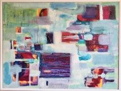 Roberta Tetzner, Awakening Mist, Original Mixed Media Painting, Contemporary Art