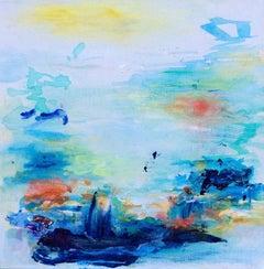 Roberta Tetzner, Inner Place, Original Mixed Media Painting, Affordable Art