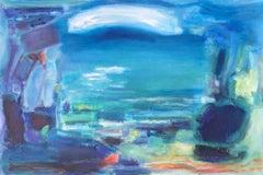 Roberta Tetzner, Pulling My Socks Off Running In, Original  Abstract Painting