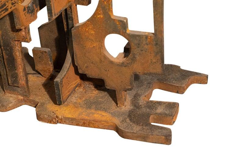 Italian Roberto Aloi, Sculpture, Metal, circa 1965, Italy For Sale