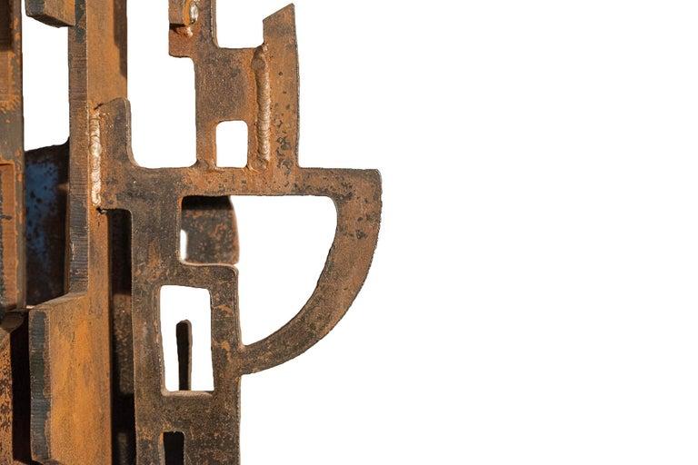 Mid-20th Century Roberto Aloi, Sculpture, Metal, circa 1965, Italy For Sale