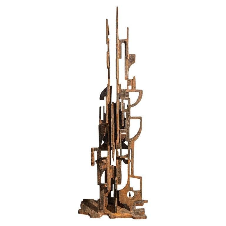 Roberto Aloi, Sculpture, Metal, circa 1965, Italy For Sale