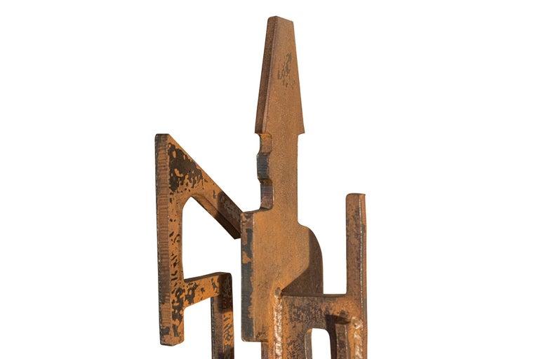 Roberto Aloi, Sculpture, Metal, circa 1965, Italy For Sale 4