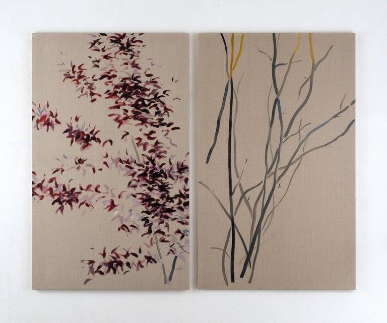 Roberto Caracciolo Abstract Painting - Nell'attesa (7)