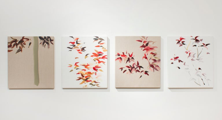 Roberto Caracciolo Abstract Painting - Prunus