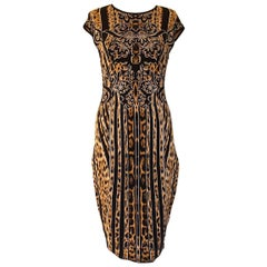 Roberto Cavalli Animalier Dress IT 42