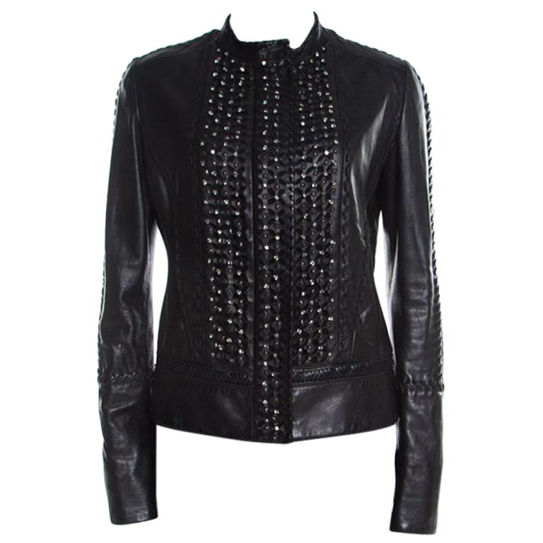 New Men Designer Genuine Lambskin Soft Biker Leather Jacket T1015