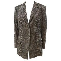 Roberto Cavalli cocco print blazer / jacket