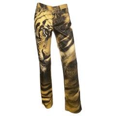 Roberto Cavalli F/W 2000 Tiger Print Pants