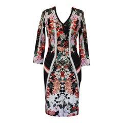 Roberto Cavalli Floral Dress IT40