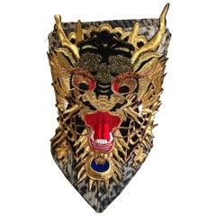 Roberto Cavalli for Just Cavalli Sexy Gold Dragon Leopard Print Bustier Corset