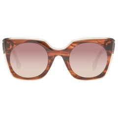 Roberto Cavalli Mint Women Brown Sunglasses RC1068 4856G 48-25-138 mm