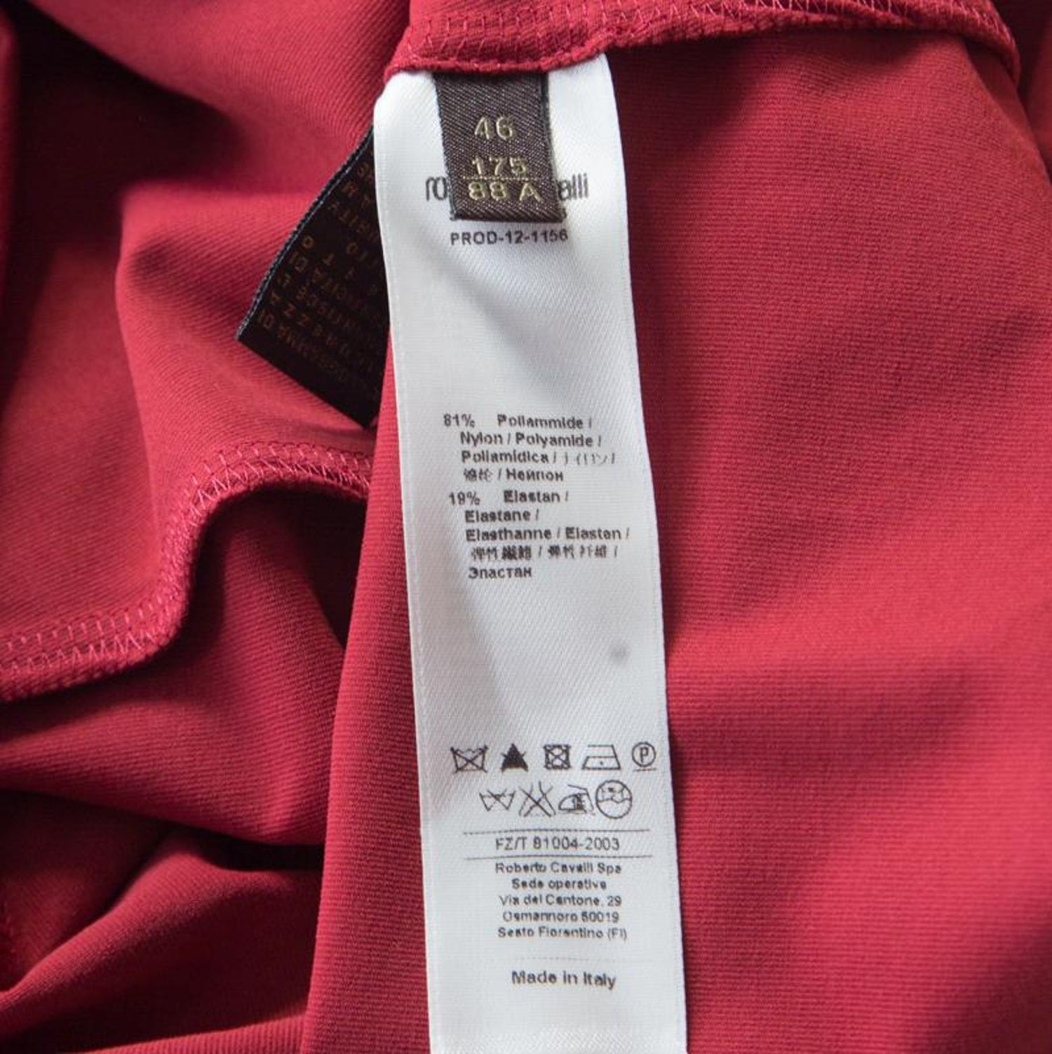 best website 9402c ed9da Roberto Cavalli Red Ruched Knit Mermaid Maxi Skirt L