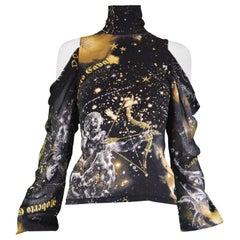 Roberto Cavalli Silk Blouse Shirt