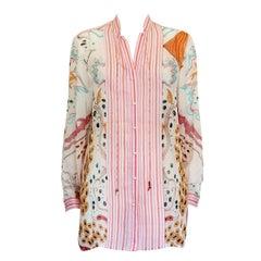 Roberto Cavalli Silk Shirt 42