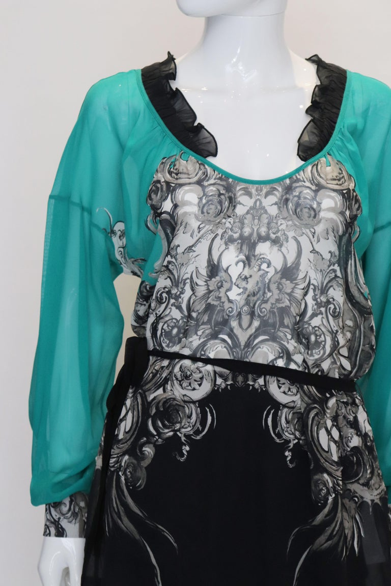 Women's Roberto Cavalli Silk Top For Sale