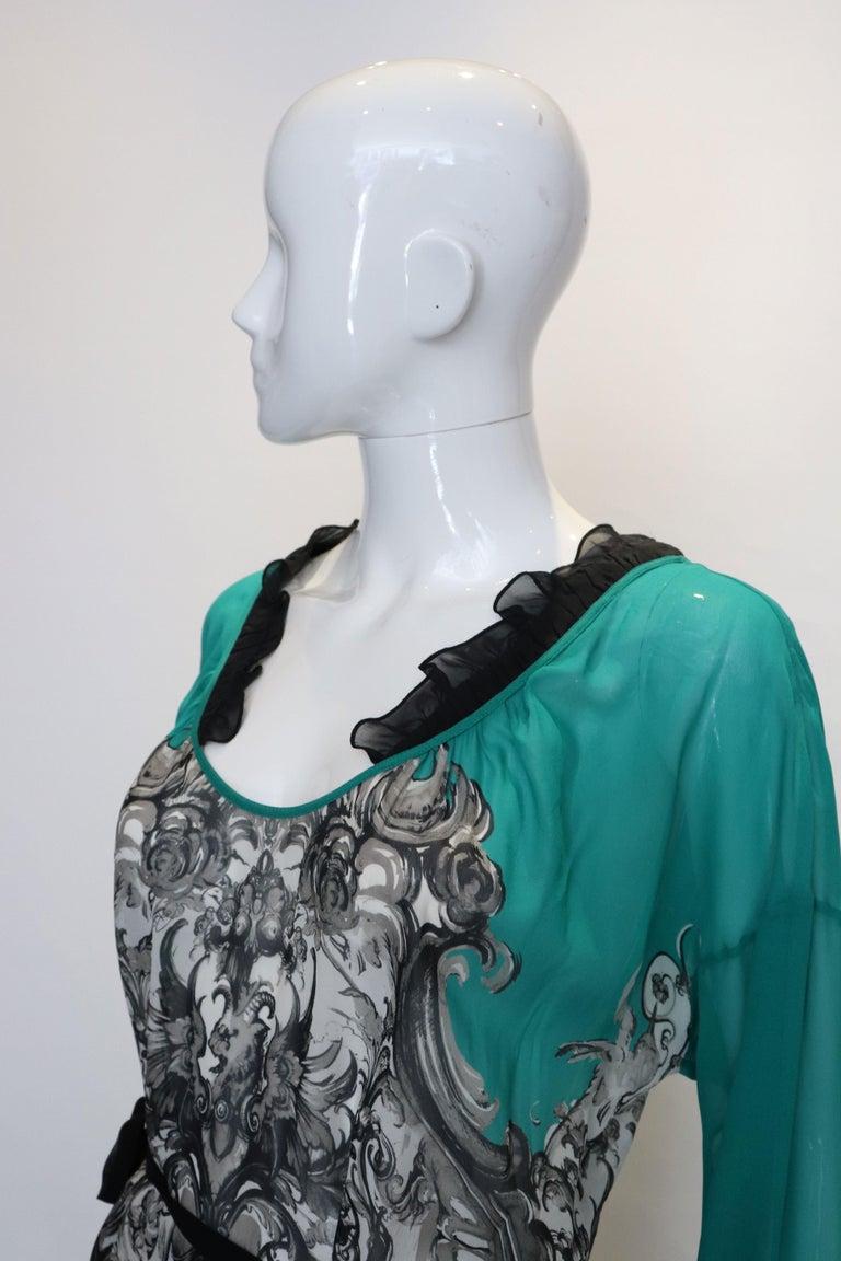 Roberto Cavalli Silk Top For Sale 1