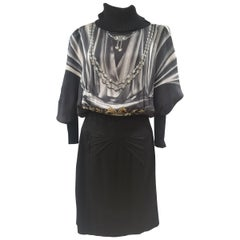 Roberto Cavalli viscose wool dress