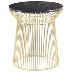 Wire.2 Side Table in Marble Top by Roberto Cavalli Home Interiors